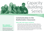 Communication-in-the-Mathematics-Classroom