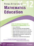 Paying Attention to Mathematics Series