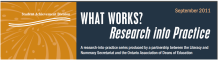 Research into Practice Series